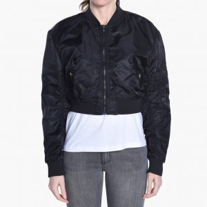 cheap monday bling bomber svart