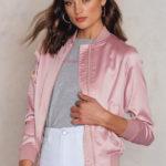 Nikoline bomber jacket pink